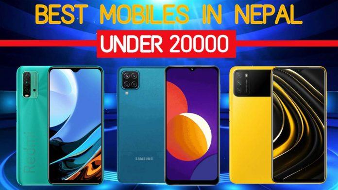 Best Mobile Phones Under 20000 in Nepal