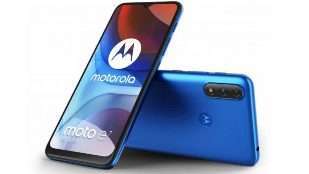 Motorola Moto E7 Power Display and Design
