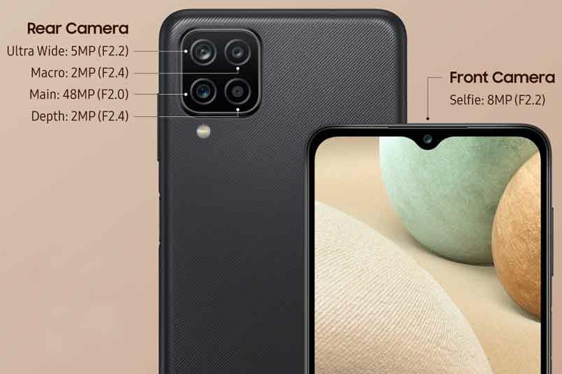 Samsung Galaxy A12 Camera