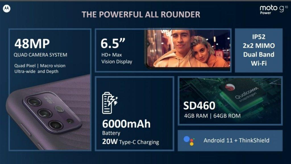 Motorola Moto G10 Power Camera and Performance