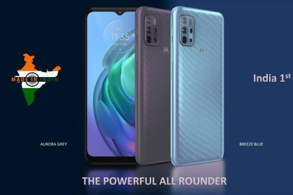 Motorola Moto G10 Power Display and Design
