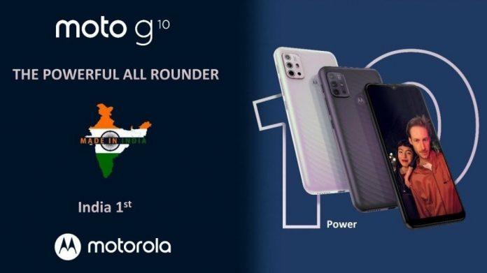 Motorola Moto G10 Power Price in Nepal
