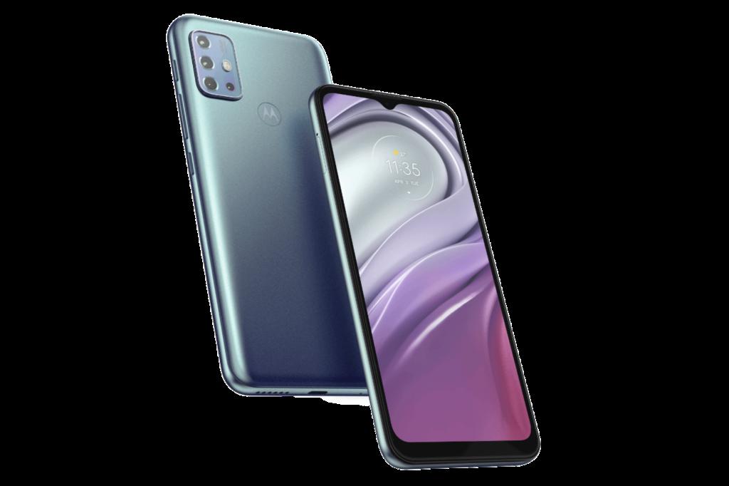 Motorola Moto G20 Design and Display