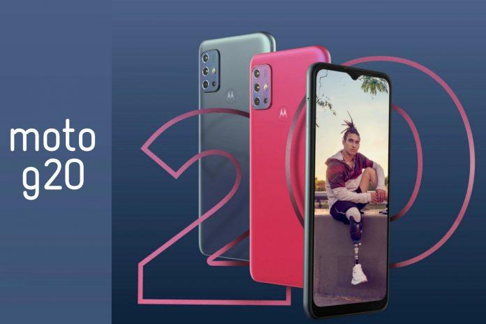Motorola Moto G20 Price in Nepal