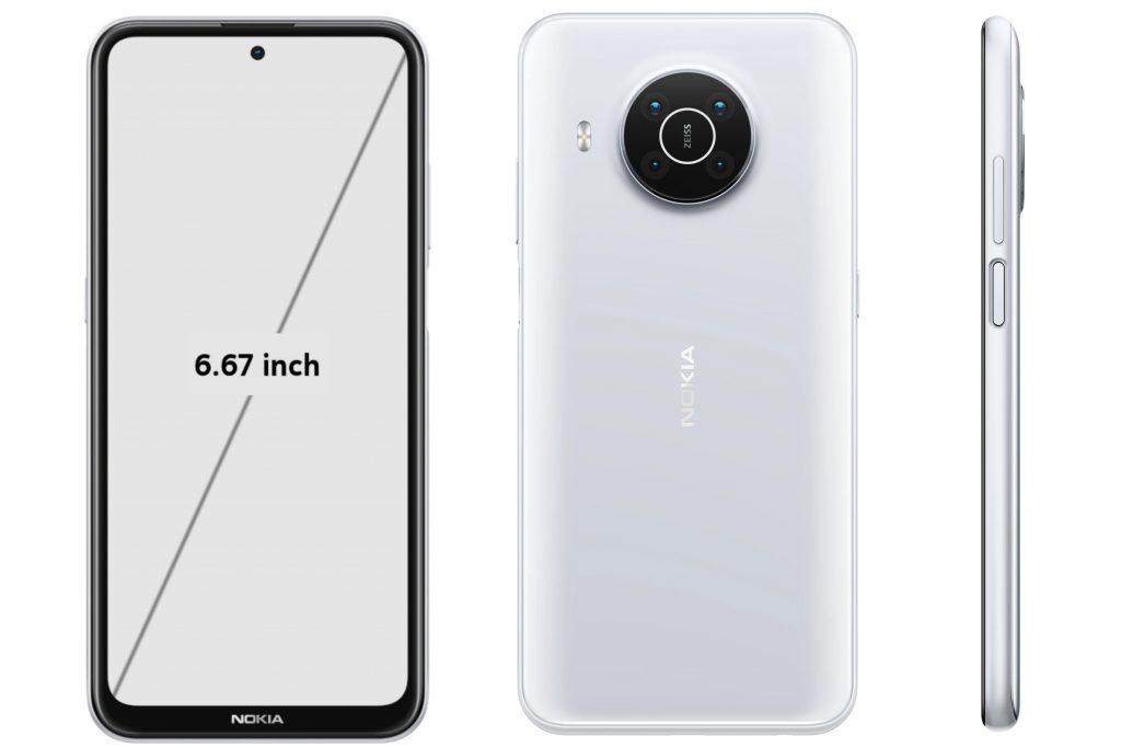 Nokia X10 Display and Design