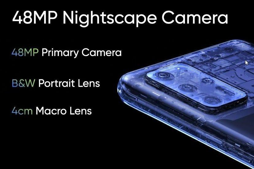 Realme 8 5G Rear Camera Setup