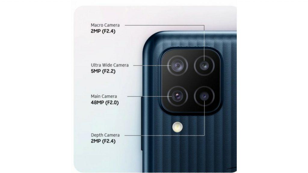 Samsung Galaxy F12 Camera