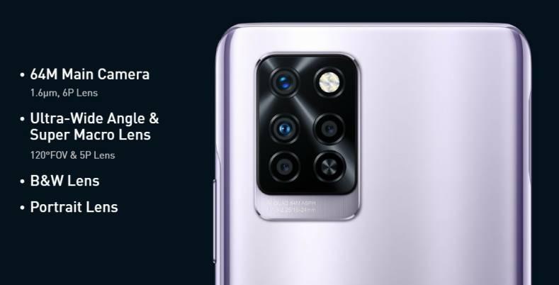 Infinix Note 10 Pro Camera