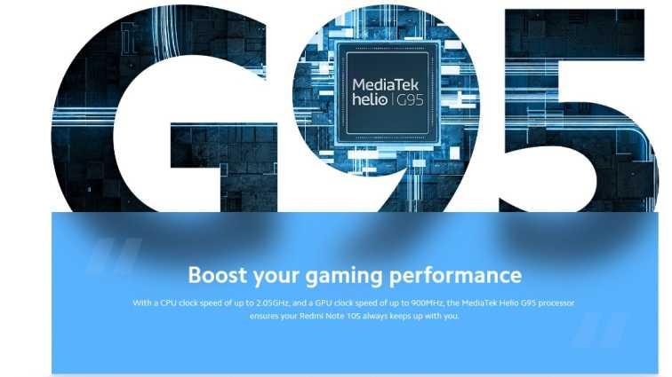 Redmi Note 10s Processor