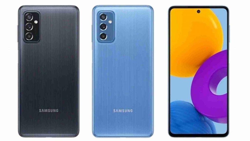 Samsung Galaxy M52 5G Design and Display