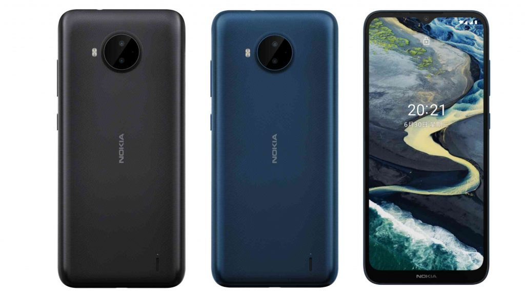 Nokia C20 Plus Design and Display