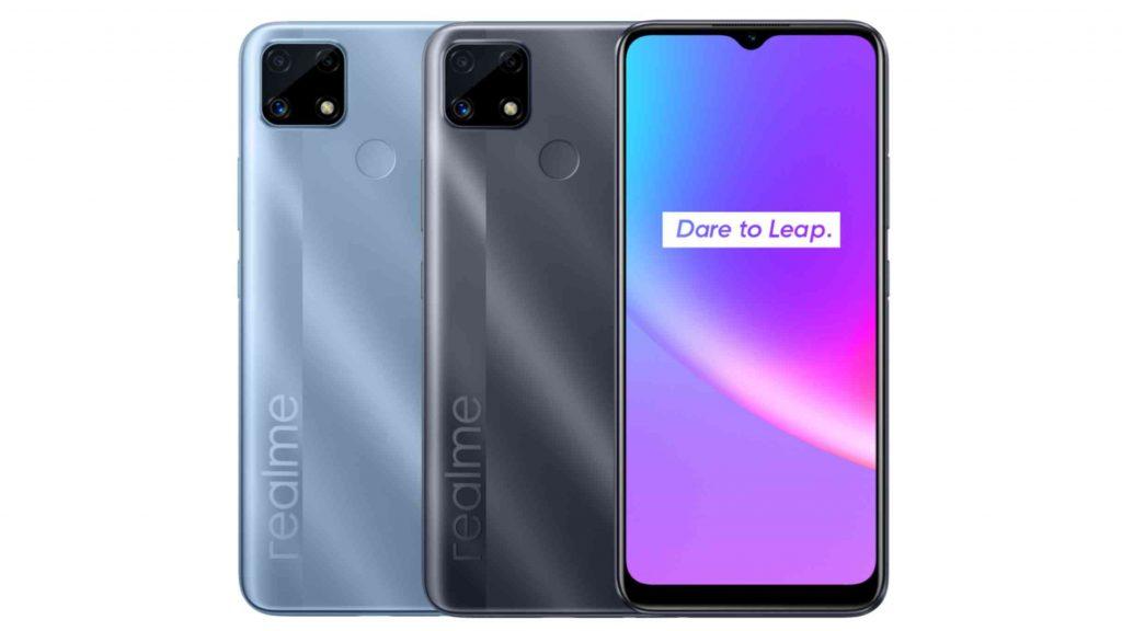 Realme C25s Design and Display
