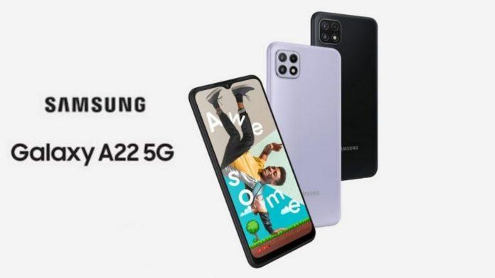 Samsung Galaxy A22 5G Price in Nepal