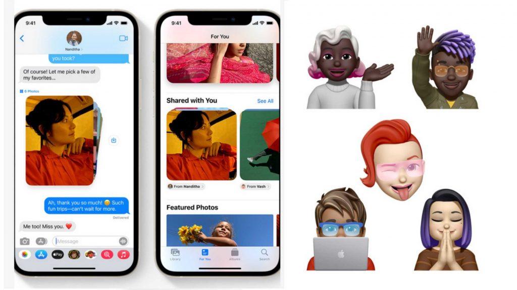 iOS 15 Message and Memoji