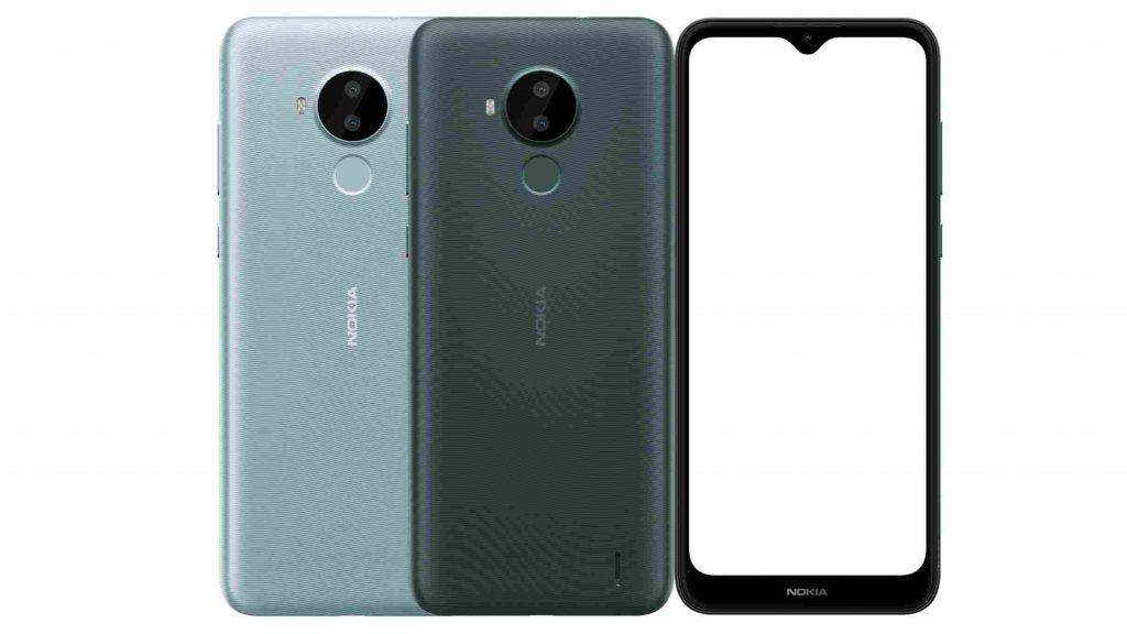 Nokia C30 Design and Display
