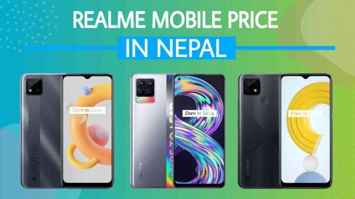 Realme Mobile Phones Price in Nepal