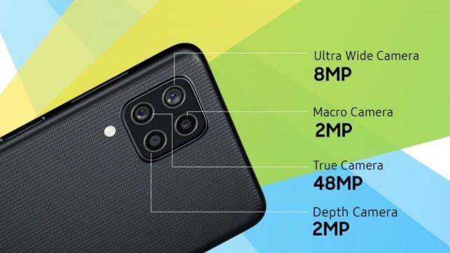 Samsung Galaxy F22 Rear Camera Setup