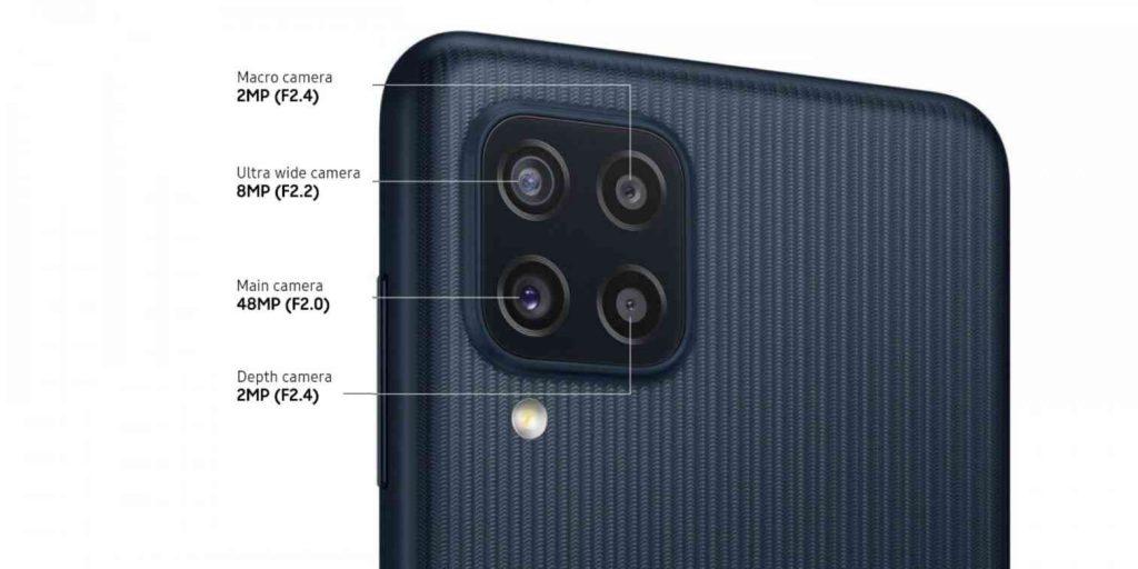 Samsung Galaxy M22 Camera Setup