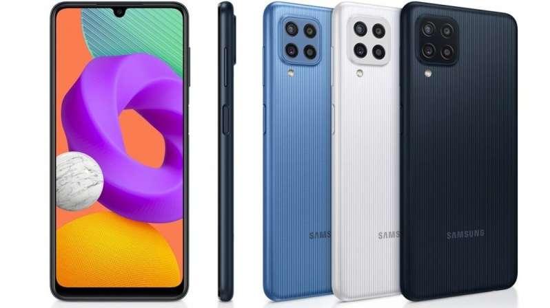 Samsung Galaxy M22 Design and Display