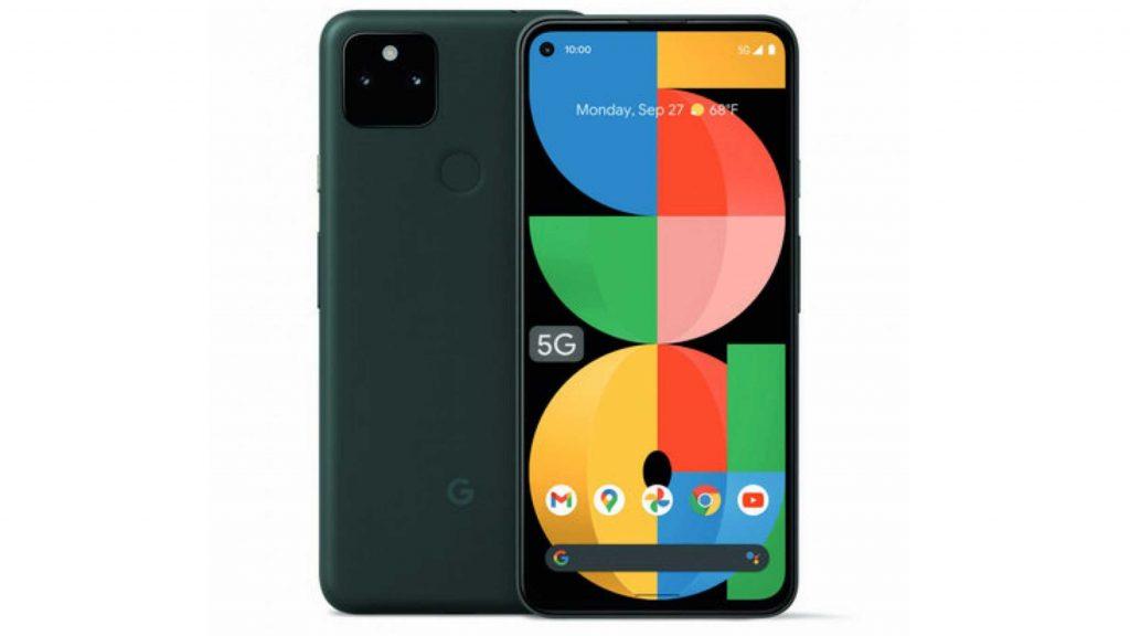 Google Pixel 5a 5G Design and Display