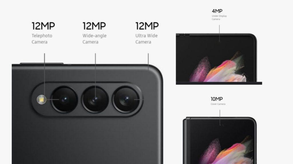 Samsung Galaxy Z Fold 3 Camera Setup
