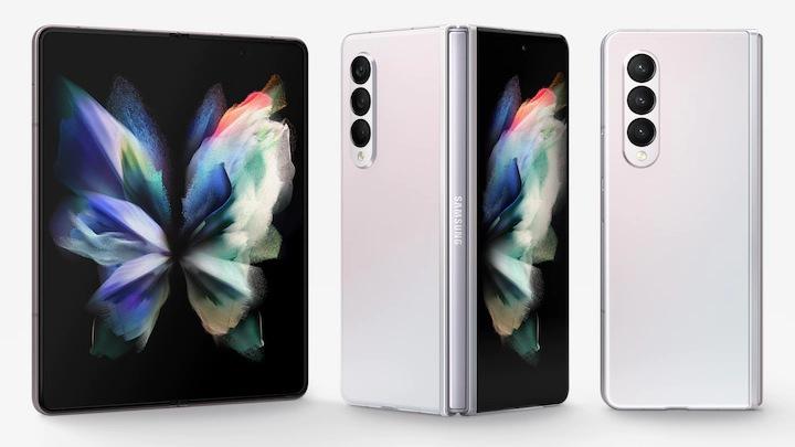 Samsung Galaxy Z Fold 3 Design and Display
