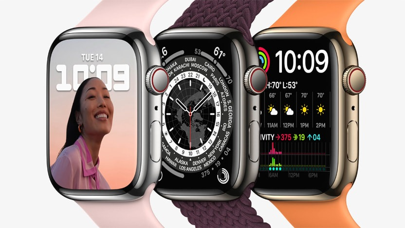 Apple Watch Series 7 Design and Display
