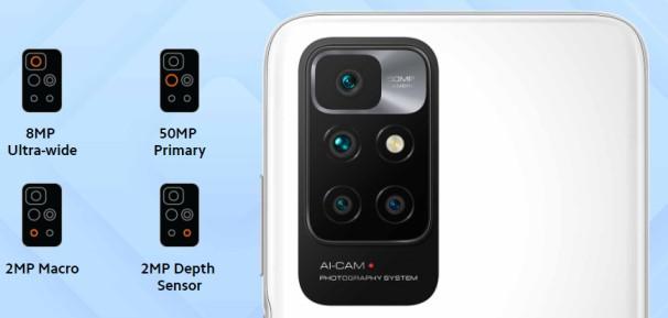 Redmi 10 Prime Camera Setup